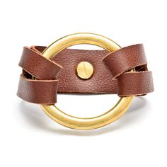 We love this leather Henri Bracelet!  $80, www.shophenriloujewelry.com