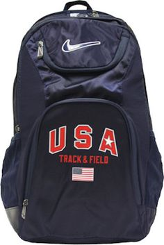 USA Track Field Usatf Backpack Bag   eBay