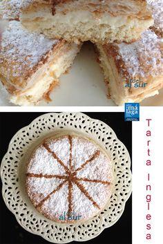 Alsurdelsur: Tarta Inglesa Fun Easy Recipes, Sweet Recipes, Real Food Recipes, Cake Recipes, Dessert Recipes, Yummy Food, Banana French Toast, Sweet Pie, Chocolate Caramels