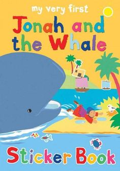 Children join in Jonah's astonishing adventure with a whale to the rescue?complete with activities and stickers The bright, colorful characters feature as stickers in this story and activity book. It