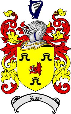 Scottish Rose Clan coat of arms / family crest from www.4crests.com