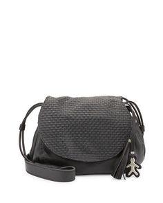 177216ad6f Molly Small Woven-Flap Messenger Bag