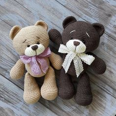 Crochet Bears Pattern