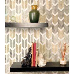 Drifting Arrows Stencil Pattern Large by CuttingEdgeStencils