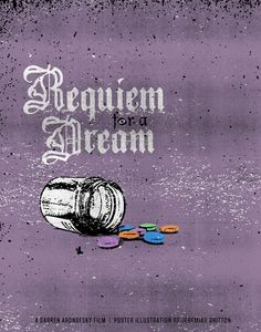 Requiem for a Dream is both a cult classic and an incredibly divisive film — some people think it's a brilliant depiction of addiction and celebrity culture, while others dismiss it as emotionally manipulative. Requiem For A Dream, Darren Aronofsky, New Poster, Movies Showing, Horror Movies, A Team, Things To Think About, Misfits, Pinterest Board