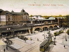 Berlin, Bahnhof  ZOO, um 1905.