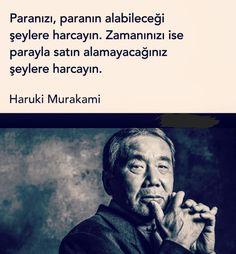 Aynen öyle..zamanı geri alamıyoruz malesef.. Pretty Words, Cool Words, Mercedes S320, Haruki Murakami, Words Worth, Note To Self, Meaningful Quotes, Favorite Quotes, Quotations