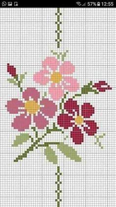 Cross Stitch Tree, Mini Cross Stitch, Cross Stitch Flowers, Cross Stitch Charts, Cross Stitch Geometric, Modern Cross Stitch Patterns, Cross Stitch Designs, Cross Stitching, Cross Stitch Embroidery