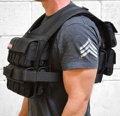 I love this vest.  Plenty of room for raising and lowering weight constraints for specific workouts.