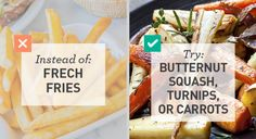 Low Carb: Roasted Carrots for French Fries