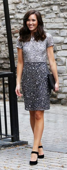 92caf85469d Holiday Look  Sequin Dress. Holiday DressesHoliday OutfitsHoliday  FashionWinter OutfitsNew Years Eve ...