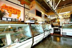 6 Great Butcher Shops for Memorial Day Grilling - i like this floor for meat house