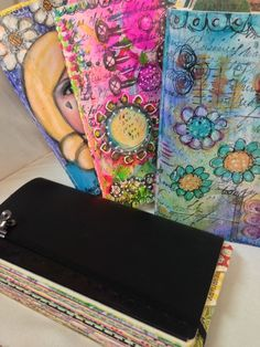 I love these and her idea and just what she did overall.  I won't give up my filofax, but she shows a version done without calendar pages included and that is a nice carry around.  Nice etsy shop too.