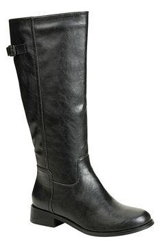 Black Strap Apple Boot