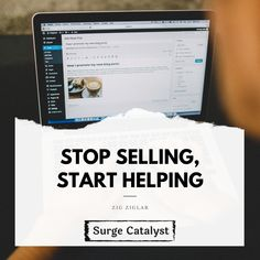 """""""Stop selling, start helping"""" When you create content to make yourself stand out. make sure you ask yourself before you post. are you selling? Or are you helping? Advertising Quotes, Marketing Quotes, Content Marketing, Digital Marketing, Quote Of The Week, News Blog, Facts, Social Media, Create"""