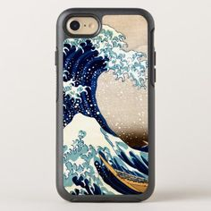 The Great Wave off Kanagawa OtterBox Symmetry iPhone 8/7 Case - animal gift ideas animals and pets diy customize