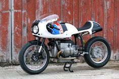 White Hot: Union Motorcycle Classics' track-inspired BMW R100 R cafe racer