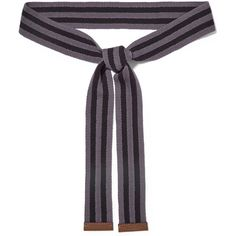 Marni Striped cotton belt ($74) ❤ liked on Polyvore featuring accessories, belts, grape, stripe belt, marni, tie belt, marni belt and striped belt
