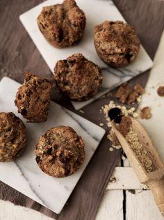 Müsliboller bagt som muffins