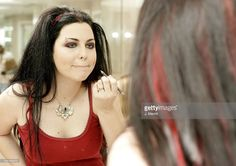 Amy Lee during Amy Lee Getting Ready for the GRAMMYs in Calabasas, CA, United…