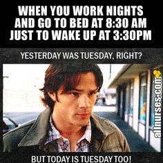 Struggle of night shift