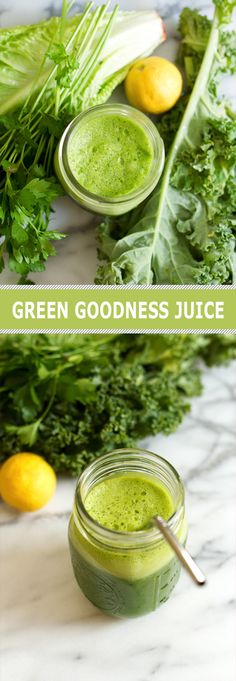 Terrific Images Green Goodness Juice with kale romaine green apple lemon and parsley Popular Plant Smoothie Recipes Once you consider drinks, you probably frequently think of fruit smoothies. Vegetable Smoothie Recipes, Green Juice Recipes, Green Smoothie Recipes, Fruit Smoothies, Healthy Smoothies, Healthy Drinks, Detox Drinks, Smoothie Detox, Juicer Recipes