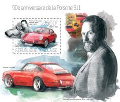 "TG 13707 b – 50th anniversary of Porsche 911, (Ferdinand Alexander Porshe ""Butzi"")."