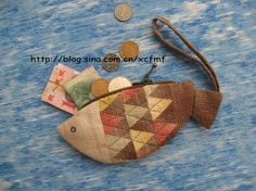 [转载]给妈妈买菜专用的钱包——鱼钱包