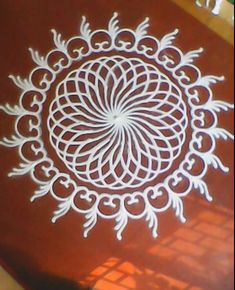 Kolam for Varalakshmi Vrata