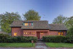Långåkersvägen 15, Malmö, Sweden   1960 Beautiful Architecture, Home Fashion, Bungalow, Beautiful Homes, Mid-century Modern, Brick, Mid Century, Houses, Cabin