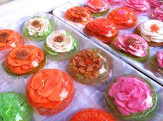 54 Best Gelatin Encapsulated Flower Art Images On Pinterest Jelly
