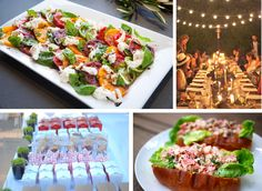 summer inspired party ideas by annie campbell • inspirations: blueberry pancake feed, capture the flag popsicle social, Father's Day burger bash, Bastille Day fete, Independence Day hot dog bar, poolside paella, New England preppy cocktail hour, grilled pizza party, Rodeo BBQ, seaside clambakes, backyard weddings