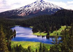 The beautiful Todd Lake in Central Oregon by Jake Ortman, via Flickr.  Easy 2-mile hike, a favorite!