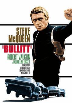 Bullit - Steve McQueen poster is so cool