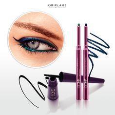 #OriflameTheONE ¿Qué tal este look de ojos para salir hoy por la noche? #MetalicEyes #Mirada #Eyeliner