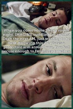 Supernatural Imagines, Supernatural Jensen, Supernatural Wallpaper, Winchester Brothers, Dean Winchester, When You Come Home, All Things Cute, Super Natural, Fan Fiction