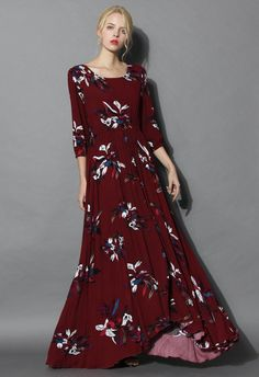 Keep Swinging Floral Maxi Dress - New Arrivals - Retro, Indie and Unique Fashion