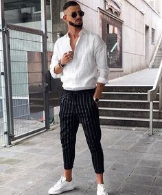 Material: Cotton,PolyesterStyle: CasualLength: Full LengthDecoration: SashesFabr… – Men's style, accessories, mens fashion trends 2020 Dope Fashion, Cool Street Fashion, Sneakers Fashion, Street Style, Runway Fashion, Fashion Photo, Men Sneakers, Mens Fashion Trends 2019, Mode Masculine