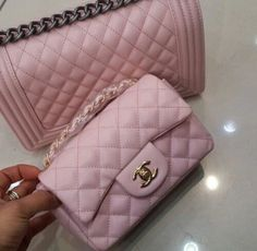 Pink Chanel ♡ Pinterest   ღ Kayla ღ Purses And Handbags 89cced02c506d