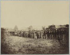 Confederate prisoners captured at cavalry fight at Aldie, Va., June, 1864