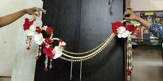 Toran Thali Decoration Ideas, Diy Diwali Decorations, Decoration For Ganpati, Festival Decorations, Handmade Decorations, Diwali Diya, Diwali Craft, Diwali Gifts, Door Hanging Decorations