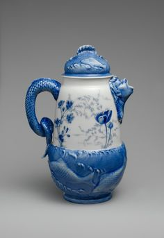 Chocolate Pot -Attributed to Ceramic Art Co. 1889-1896