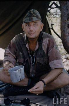 """Ltn Bigeard - """"Bruno"""" - in Algeria. Pin by Paolo Marzioli"""
