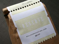 Bull Run Roasting Company (Reserve Collection) - Jeff Holmberg