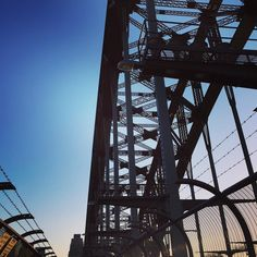 Bridge walks  #exploring #sydney #bridge #sunset #sydneyharbourbridge #bluesky #instagood #australia #walk #view #sogood by mladendizdar http://ift.tt/1NRMbNv