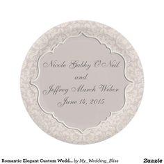 Romantic Elegant Custom Wedding