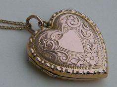 Circa 1900 Antique Victorian Edwardian Rose Gold by AntiqueLockets, $600.00