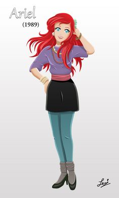 Ariel - Circa 1989 by tachiban18 on deviantART 1989! 1989! 1989! 1989! 1989! I will never get over this!! :D