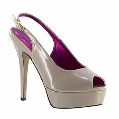 New Johnathan Kayne Natalia Slingback Peeptoe Pageant Formal Sexy Evening Shoes #JohnathanKayne #Slingbacks