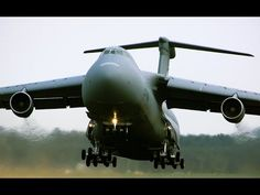 The Largest Aircraft in The U.S. Military   The Lockheed C-5 Galaxy is a large military transport aircraft built by Lockheed.